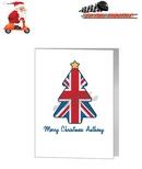 Card - Contemporary Union Jack Christmas Tree