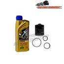 Standard Plus Piaggio Oil Service Kit with o-rings - Piaggio Vespa ET4, GTS, GTV, MP3....