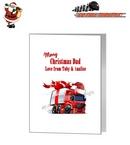 Card - HGV Trucker Santa