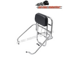 Vespa GTS Stainless Steel Rear Rack & Back Rest / Carrier  - Piaggio Vespa GT, GTV & GTS 125, 250, 300