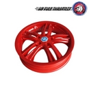 Customised Pair of Piaggio MP3 Yourban LT Sport Front Rims/Wheels 3.00 x 13