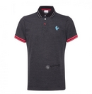 Vespa V-stripes Felpa Black Polo Shirt  - 606634