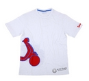 Vespa Shape White T-Shirt  - 605873