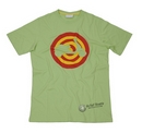 Vespa Target Scooter Shape Green T-Shirt  - 605872