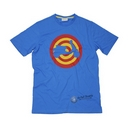 Vespa Target Scooter Shape Blue T-Shirt  - 605872