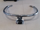 Vespa GTS chrome grab rail