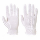 100% Cotton Gloves Dotted Palm White Cotton Gloves